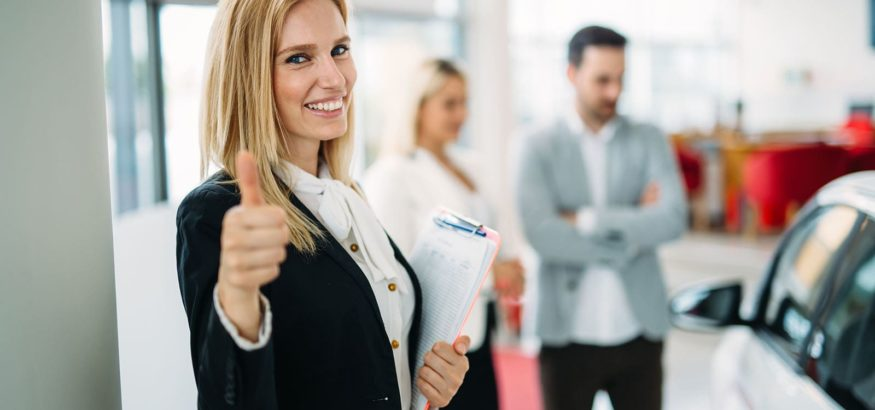 picture-of-attractive-saleswoman-working-in
